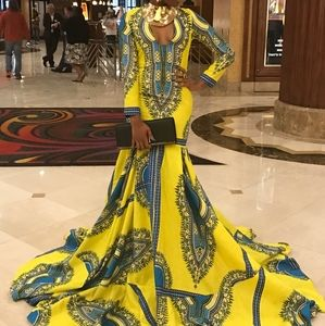 African Prom dress